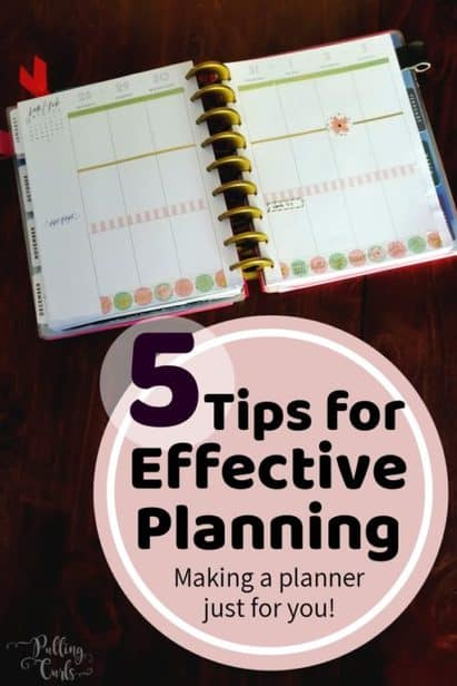 effective paper planning