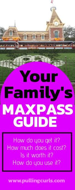 Disneyland Maxpass hacks
