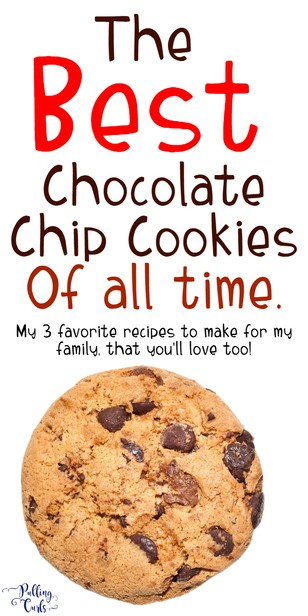 Today, I want to share my 3 favorite cookie recipes! These are everyday cookies that people can easily make at home (with their kids) that our family loves!   via @pullingcurls
