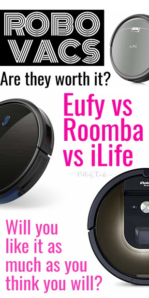 Today we're going to compare the Eufy 30c the iLife A4 and the iRobot Roomba 980 Vacuums.  Which is the best robot vacuum for your house, and what will be worth the money?  Which will pick up best on hard floors vs carpet? via @pullingcurls