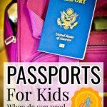 Child's passport