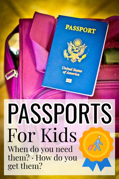 Child's passport