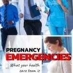 medical team running to a pregnancy emergency