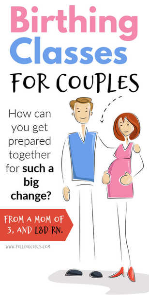 How do pregnant couples get prepared TOGETHER for their upcoming birth? via @pullingcurls