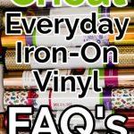 Cricut Iron-on Vinyl