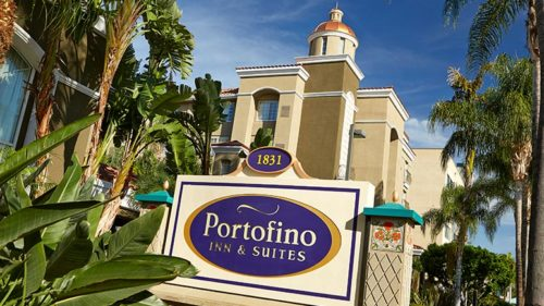 Portofino cheap hotel near Disneyland