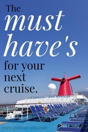 Cruise needs