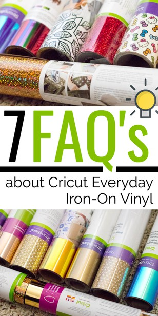 Check out these tips for Iron Vinyl that will make you feel more comfortable using yours! via @pullingcurls