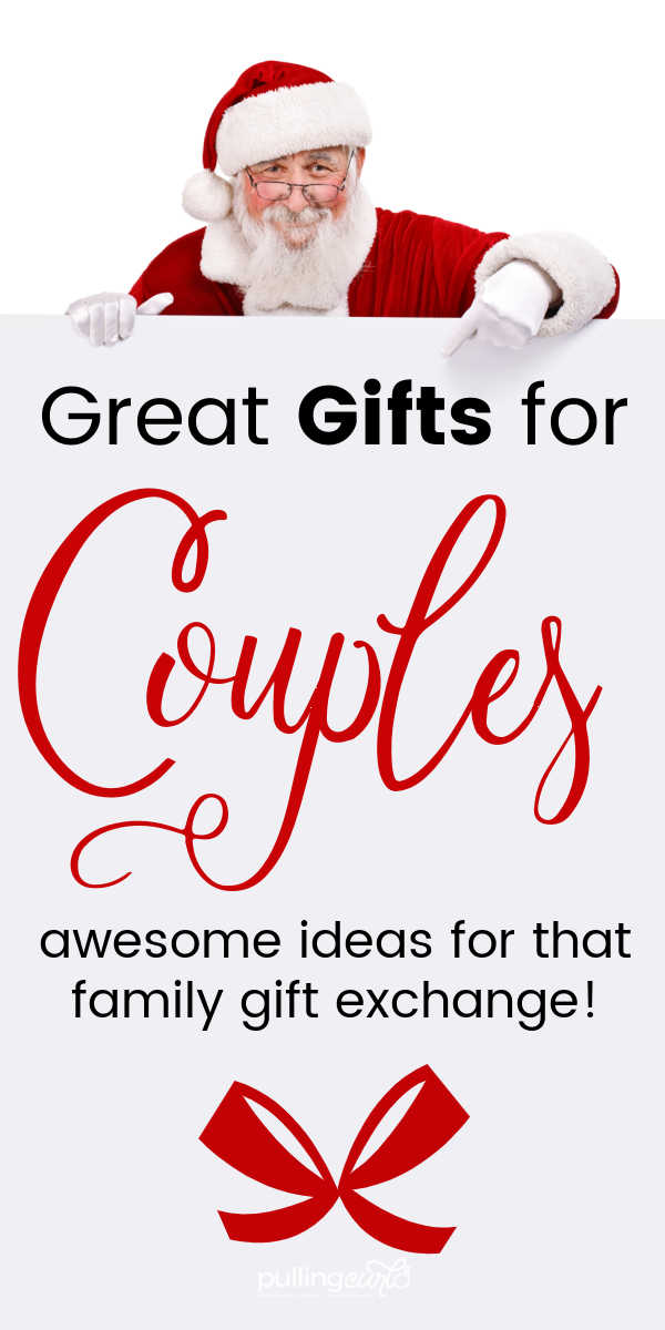 Gifts for Couples for Christmas: Inexpensive ideas for couples who have everything! via @pullingcurls