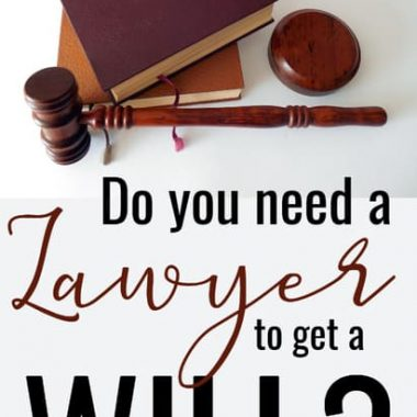 do you need a layser to make a will?