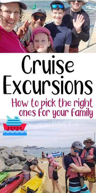This last Spring, we went to the Mexican Riviera with Carnival Cruise lines, we wanted to try a couple of different types of excursions and we've come up with some tips for families to choose excursions. via @pullingcurls