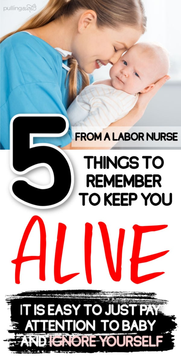 How do you keep yourself alive after you have a baby? via @pullingcurls
