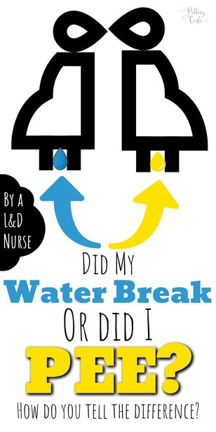 How can you tell if you peed or if your water broke? via @pullingcurls