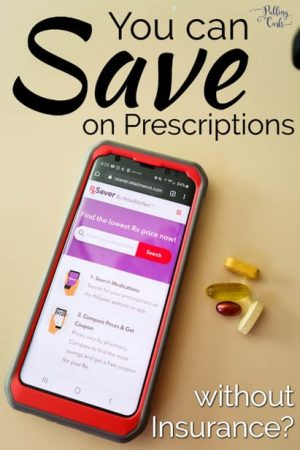 RxSaver app and medication