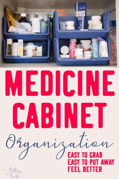 Medicine Storage Ideas Even Without A Medicine Cabinet