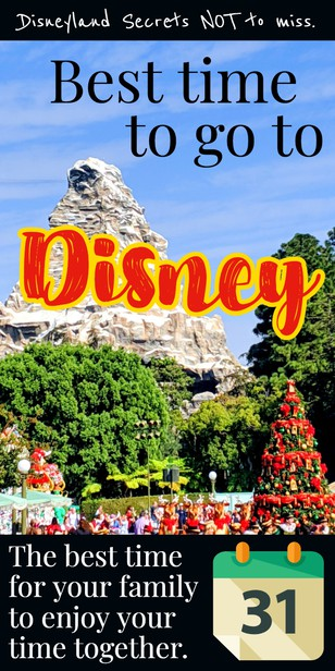 When should I go to Disneyland? i want low crowds, and high fun! via @pullingcurls