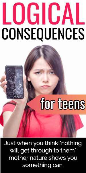 Consequences for Teens: A list of logical consequences for
