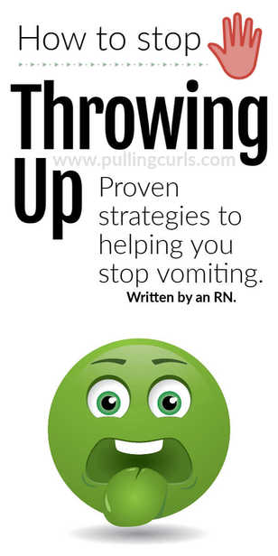 If it's the stomach flu, or something you hate -- there are some proven strategies to limit how much you (or your family) are throwing up and get int to STOP. via @pullingcurls