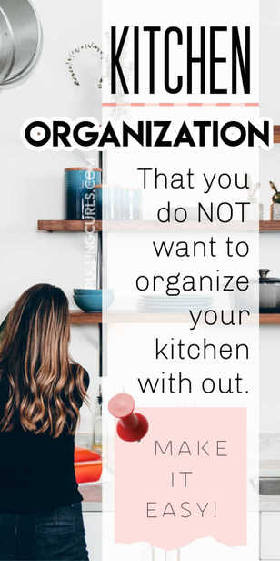 Kitchen organization / cabinets / ideas / diy / pantry via @pullingcurls