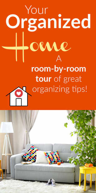Let's go room-by-room to get some great organizing tips for YOUR house! via @pullingcurls