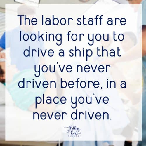 The labor staff are looking for you to drive a ship that you've never driven before, in a place you've never driven.