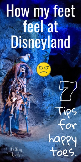 Here are seven tips for happy toes at Disneyland! via @pullingcurls