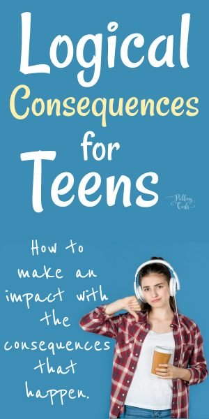 Teenager with a consequence