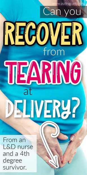 Tearing during birth can happen at delivery. Why does it happen, how can you prevent it and recover? via @pullingcurls