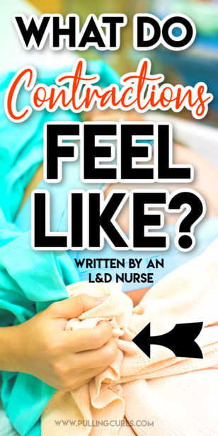 How will I know I am having contractions? What do they feel like? What should I expect -- from an L&D RN, BSN. via @pullingcurls