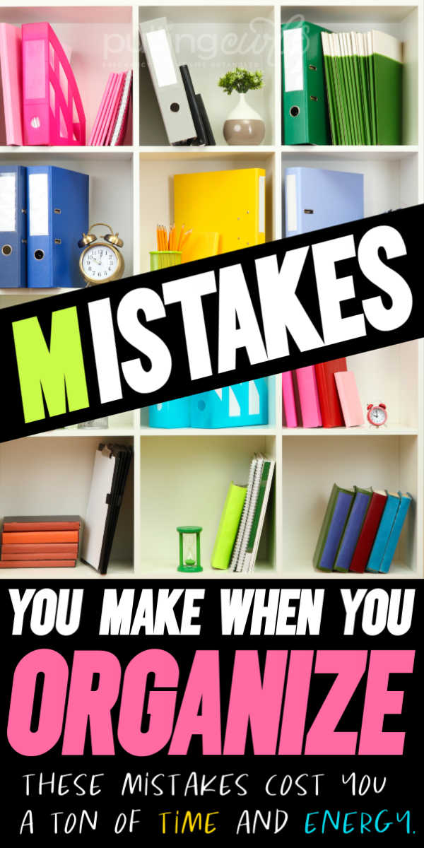 what are the things that waste your life organizing? via @pullingcurls