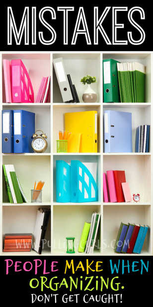 What are the mistakes you make when organizing? via @pullingcurls