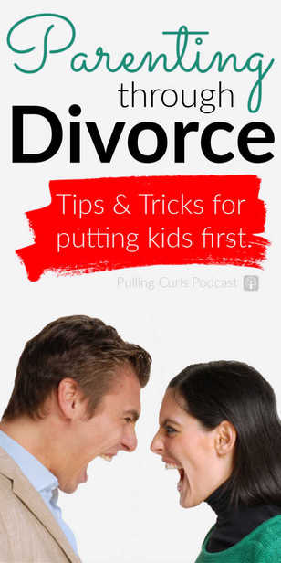 Parenting through divorce -- what are some tips to helping your kids navigate the waters with you! via @pullingcurls
