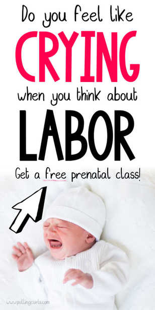 Stop crying and take a prenatal class / childbirth / labor and delivery via @pullingcurls