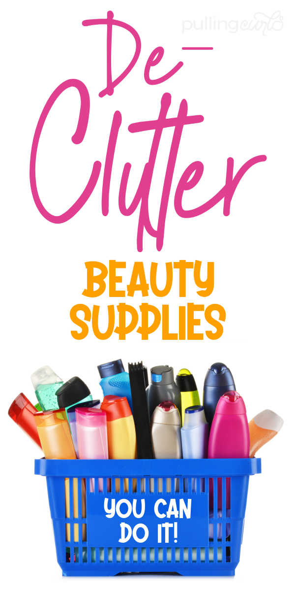 How do I declutter my beauty products? via @pullingcurls