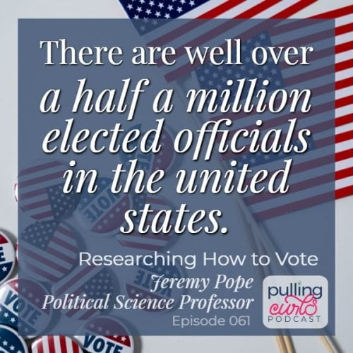 there are well over a half a million elected officials in the US.