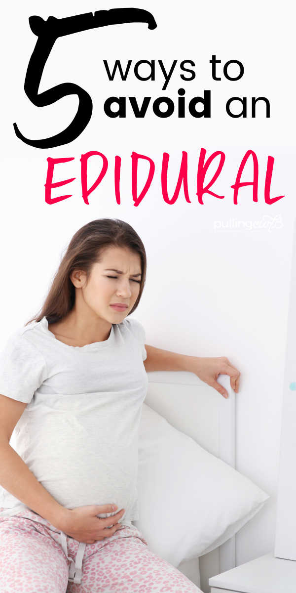 5 Ways to Avoid an Epidural via @pullingcurls