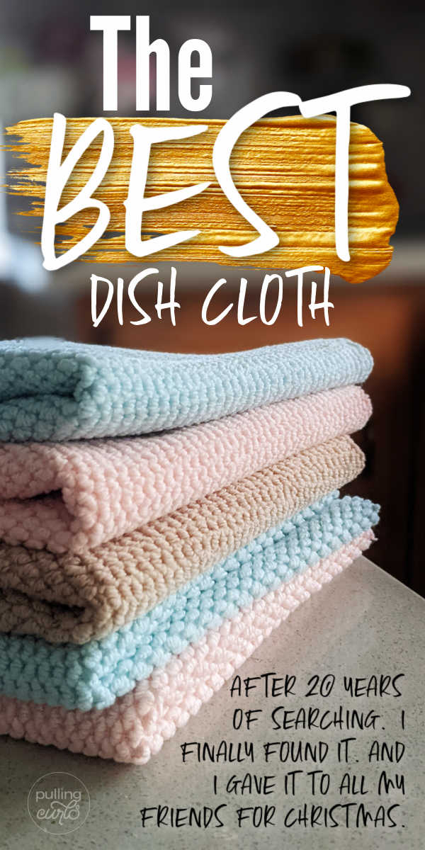 The best crocheted yarn dish cloth isn't anywhere near as good as these. These hacks to get the best dish rag will hlep you keep a schedule of cleaning and stay on your checklist for the tips and tricks to make your kitchen cleaner DIY. via @pullingcurls